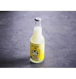 Miyakanbai Sparkling Yuzu Sake (Made with Organic Yuzu!) 宮寒梅 ゆず酒スパークリング - 330ML