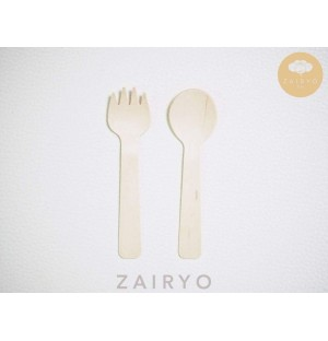 Biodegradable Disposable Wooden Dessert Spoons (3 types to choose from!)