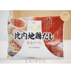 Dashimen Hinai Jidori Tori Ramen (Hinai Jidori Chicken Dashi Instant Noodles)
