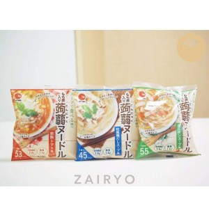 Shirataki Noodles with Low Cal Soup Base (comes in 3 flavours!) / しらたきヌードル
