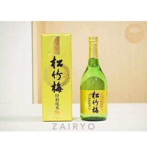 Shochikubai Tokubetsu Junmai Sake (with Gold Flakes!)