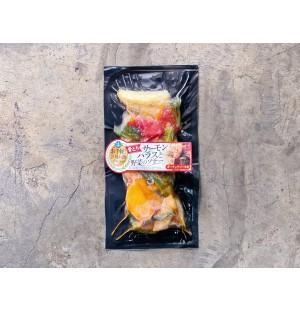 Kawabata Salmon Harasu (Belly) Yasai Garlic